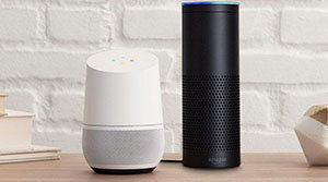 google home et amazon echo